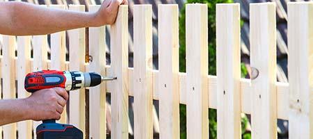 houten tuinhek